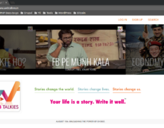 WebTalkies Web Portal